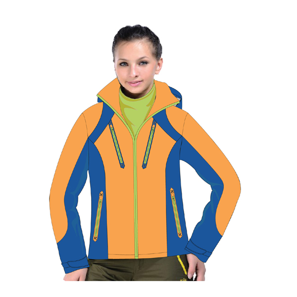 hoody snow jacket