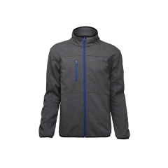 Zip anteriore Soft Shell giacca