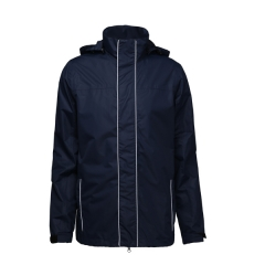 Detachable hooded and reflection jacket